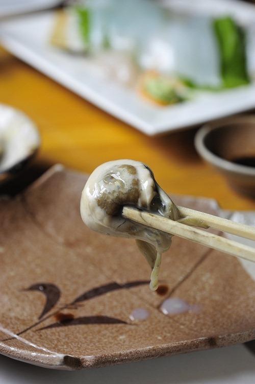 牡蛎刺身1