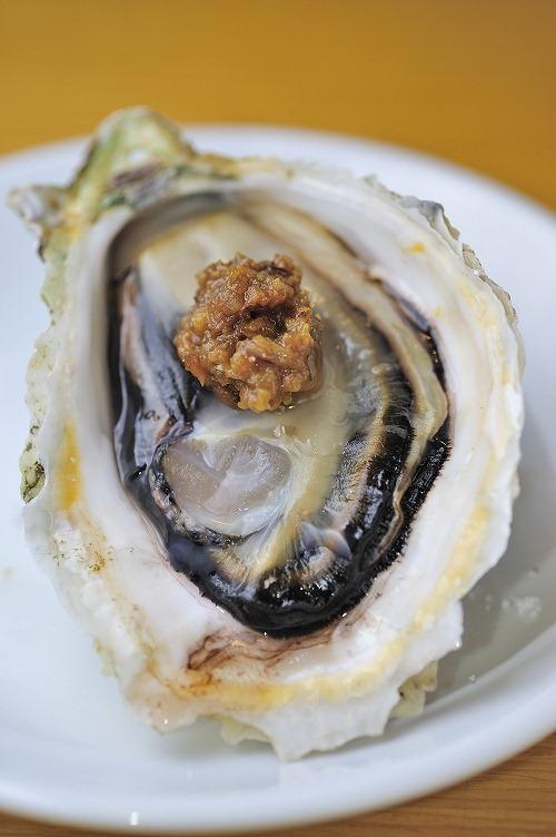 牡蛎にこじょうゆ