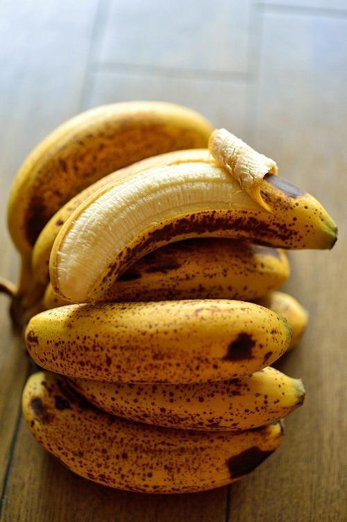 三尺バナナ熟した状態