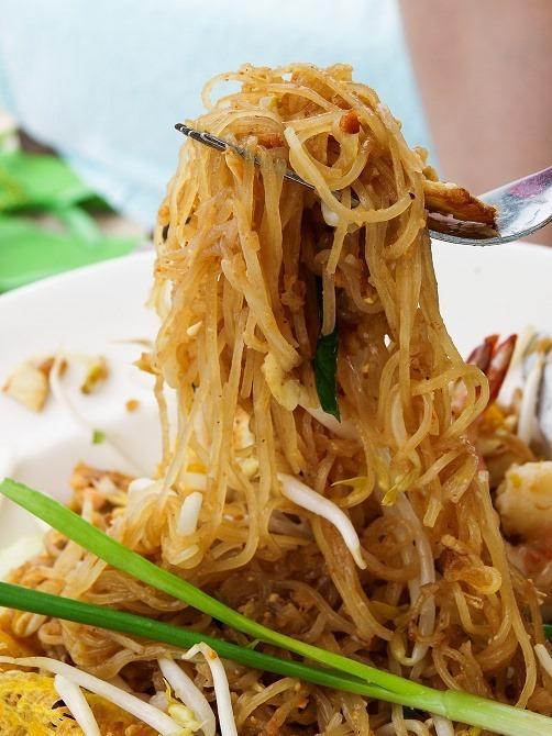 タイで大人気の米粉麺料理・パッタイ