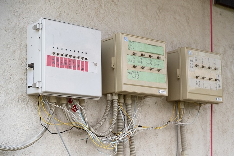 ハウス内の環境制御システム