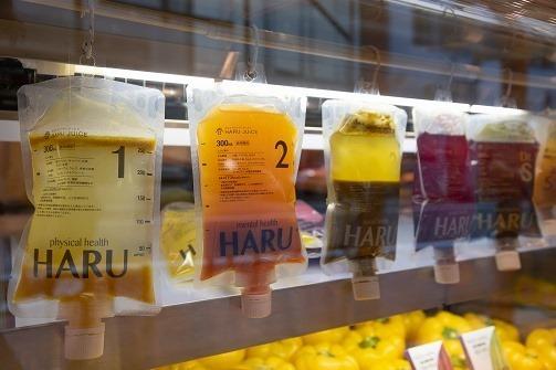 HARUジュースの店頭にて。 (2)